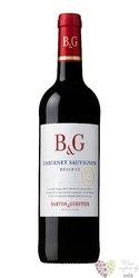 """Cabernet Sauvignon """" Réserve """" 2012 Languedoc Roussillon Igp Barton & Guestier0.75 l"""
