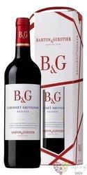 """Cabernet Sauvignon """" Réserve """" gift box Languedoc Roussillon Igp Barton & Guestier  0.75 l"""