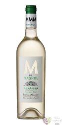 """Bordeaux blanc """" M de Magnol """" Aoc Barton & Guestier   0.75 l"""