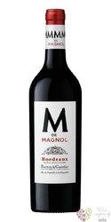 """Bordeaux rouge """" M de Magnol """" Aoc Barton & Guestier   0.75 l"""