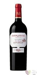 """Saint Emilion rouge """" Passeport series """" Aoc Barton & Guestier   0.75 l"""