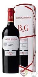 Médoc rouge Aoc gift box Barton & Guestier  0.75 l