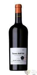 """Saint Emilion rouge """" Thomas Barton réserve """" Aoc Barton & Guestier   0.75 l"""