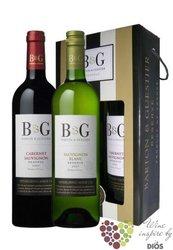 """Gift pack """" B&G réserve """" Languedoc Roussillon VdP Barton & Guestier    2 x 0.75 l"""