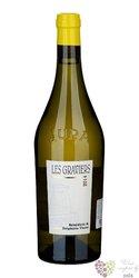 """Arbois blanc """" les Graviers """" Aoc 2014 domaine Tissot  0.75 l"""