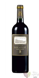 Bordeaux rouge Aoc 2015 chateau Loumelat  0.75 l