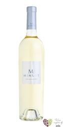 "Cotes de Provence blanc "" M "" Aoc 2016 Chateau Minuty  0.75 l"