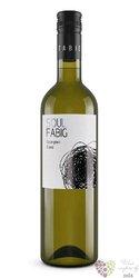 """Sauvignon blanc """" Soul """" 2016 moravské zemské víno vinařství Fabig  0.75 l"""