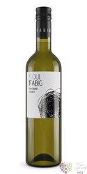 Veltlínské zelené 2017 moravské zemské víno vinařství Fabig     0.75 l
