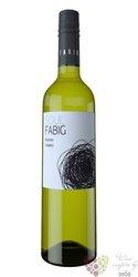Ryzlink vlašský 2015 moravské zemské víno vinařství Fabig   0.75 l