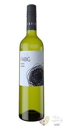 Ryzlink vlašský 2016 moravské zemské víno vinařství Fabig   0.75 l