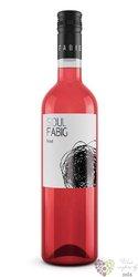 Rosé 2017 moravské zemské víno vinařství Fabig  0.75 l