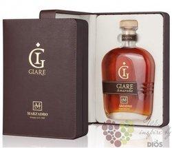 """Grappa affinata """" le Giare Chardonnay """" leather box distileria Marzadro 45% vol. 0.70 l"""