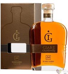 """Grappa affinata """" le Giare Chardonnay """" distileria Marzadro 41% vol.  0.70 l"""