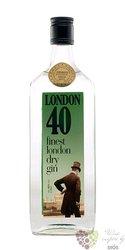 London 40 finest London dry gin 40% vol.  0.70 l