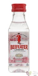"Beefeater "" Original "" London dry gin 40% vol.  0.05 l"