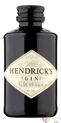 Hendrick�s The original Scotch gin 41.4% Vol.    0.05 l