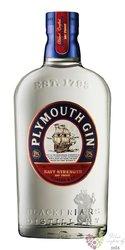"""Plymouth """" Navy Strength """" English London dry gin 57% vol.  0.70 l"""
