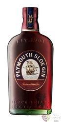 "Plymouth "" Sloe "" flavored English gin 26% vol.  0.70 l"