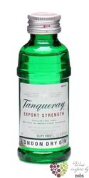 Tanqueray special London dry gin 43.1% vol.   0.05 l