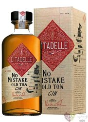 "Citadelle "" no Mistake Old Tom "" premium French aged gin 46% vol.  0.50 l"