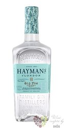 "Hayman´s "" Old Tom style "" limited premium English gin 41.4 % vol.  0.70 l"