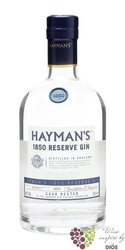 "Hayman´s "" 1850 Reserve batch 2  "" cask rested London dry gin 40% vol.    0.70 l"