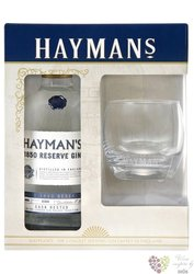 "Hayman´s "" 1850 Reserve batch 6 "" glass pack cask rested London dry gin 40% vol.    0.70 l"