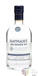 "Hayman´s "" 1850 Reserve batch 6 "" cask rested London dry gin 40% vol.    0.70 l"