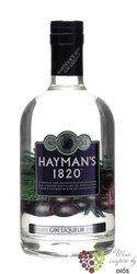 "Hayman´s "" 1820 "" English London gin liqueur 40% vol.    0.70 l"