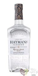 "Hayman´s "" Royal Dock of Deptford "" premium English navy London gin liqueur 57%vol.   0.70 l"