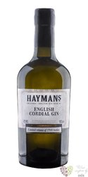 "Hayman´s "" Cordial "" English London dry gin 42% vol.  0.50 l"