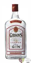 Gibson´s London Dry gin 37.5% vol.    0.70 l
