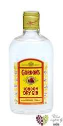 Gordon´s special London dry gin 37.5% vol.    0.35 l