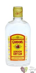 Gordon´s special London dry gin 37.5% vol.  0.20 l