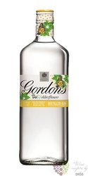 "Gordon´s "" elderflower "" flavored gin 37.5% vol.  0.70 l"