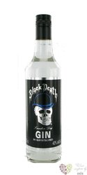 Black Death London dry Belgian gin 40% vol.   0.70 l