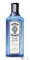 "Bombay "" Sapphire "" premium London dry gin 40% vol.  0.70 l"