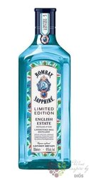 "Bombay ltd. "" English Estate "" premium London dry gin 41% vol.  0.70 l"