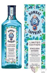 "Bombay ltd. "" English Estate "" premium London dry gin 41% vol.  1.00 l"