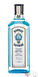 "Bombay "" Sapphire "" premium London dry gin 40% vol.     0.05 l"