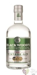 "Blackwood´s 2007 "" Vintage "" premium Scotch gin 40% vol.   0.70 l"