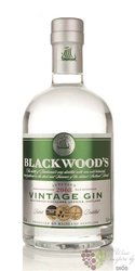 "Blackwood´s 2008 "" Vintage "" premium Scotch gin 40% vol.   0.70 l"