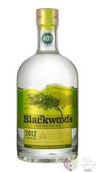 "Blackwood´s 2012 "" Vintage "" premium Scotch gin 40% vol.   0.70 l"