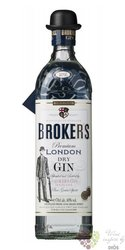 Broker´s premium British London dry gin 40% vol.  0.70 l