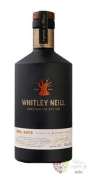 Whitley Neill small batch British London dry gin 43% vol.  1.00 l