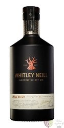 Whitley Neill single barrel British London dry gin 42% vol.  0.70 l