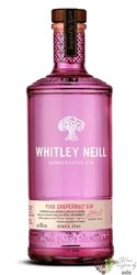 """Whitley Neill """" Pink Grapefruit """" British flavored small batch gin 43% vol.  0.05 l"""