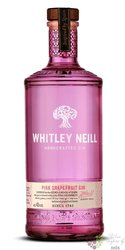 "Whitley Neill "" Pink Grapefruit "" British flavored small batch gin 43% vol.  0.70 l"