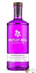 "Whitley Neill "" Rhubarb & Ginger "" British flavoured small batch gin 43% vol.  0.05 l"
